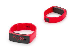 Reloj Led Digital De Silicona Deportivo Rojo