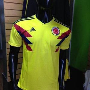 Camiseta Oficial Selección Colombia  Hombre Mujer Niño