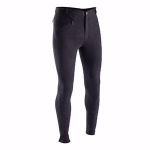 Pantalón/ Breeches Equitación Hombre Negro Todas Ls Tallas
