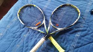 Pareja De Raqueta De Tenis Wilson Juice Lite 100l Blx