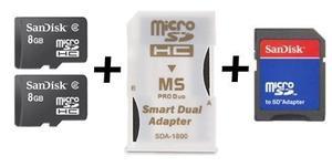 16 Gb De Memoria Combo Ms Pro Duo Para Sony Psp Y Sony