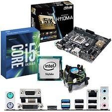 Combo Asus Sexta Gen. Intel Core I +h110 Ma+8gb Ddr4