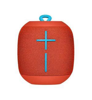 Logitech Ue Wonderboom, Altavoz Bluetooth Sumergible - Rojo