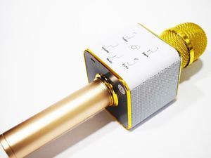 Micrófono Inalámbrico Portátil Con Altavoz Karaoke Usb Q7