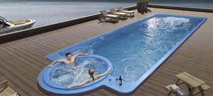 Piscinas fibra vidrio diverciones tulu posot class for Modelos de piscinas de fibra de vidrio