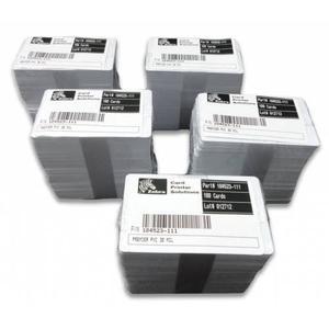 Paquete Tarjetas Pvc Caja X 500 Carnets De Zebra, Calibre 30