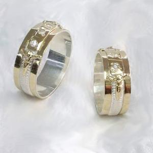Anillos Boda, Argollas Matrimonio, Plata - Oro