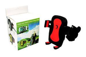 Base Soporte Para Celular O Gps 360° Uso En Moto, Bicicleta