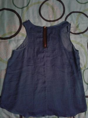 Blusa Azul Talla Xl