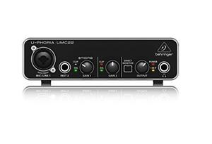 Behringer U-phoria Umc22 Interfaz De Audio Usb Q28