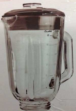 Jarra Vidrio + Tapa Para Licuadora Black And Decker Fusión