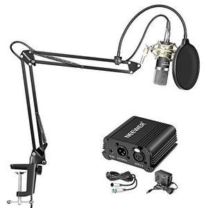Micrófono Neewer Nw-700 De Condensador Profesional Y Nw-35