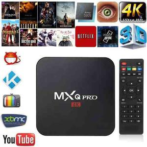Tv Box Mxq Pro 4k Android 6.0 Smart Tv Kodi  Ram 1gb
