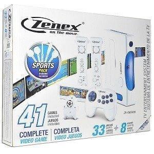 Zenex On The Move Consola De Juegos