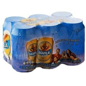 Cerveza En Six Pack Aguila Light