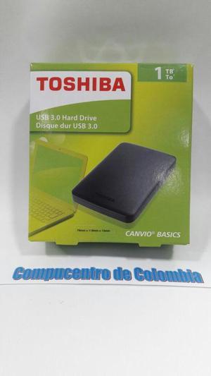 DISCO DURO EXTERNO TOSHIBA DE 1 TB, 2 TB, 3TB Y 4 TB DESDE