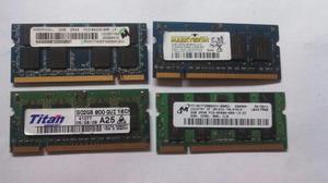 MEMORIAS DDR2 1GB y 2GB