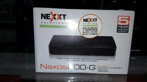 Switch 8 Puertos Nexxt Gigabit