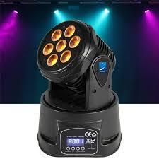 cabeza robotica!!luces led de la mejor calidad promoción