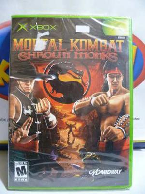 Combo Mortal Kombat Shaolin Monks + Sudeki Xbox Clasico