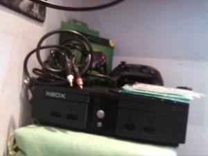 Xbox Clasico 2 Controles Copia Y Cables Originales 10 Juegos