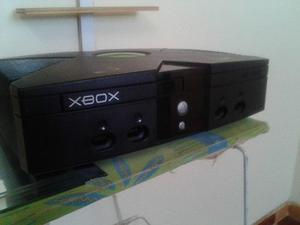 Xbox Clasico Negro 2 Controles / +40 Juegos Incorporados