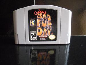 Vendo Juego Conkers Bad Fur Day para Consola Nintendo 64 N64