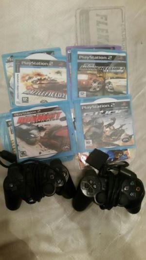 Vendo Juegos Y Controles de Play 2 Cali