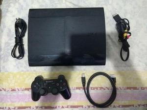 Vendo Ps3 Super Slim 250 Gb 12 Juegos Físicos 2 Controles