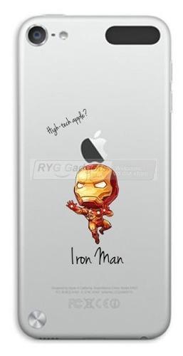 Estuche Ipod Touch 5g Y 6g, Iron Man, Homero