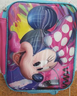 Lonchera Minnie Mouse Cartuchera