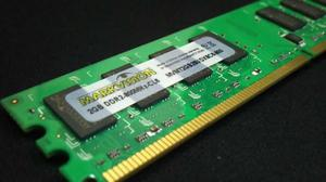 Memória RAM DDR2 2GB para pc