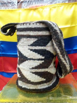 Mochila Arhuaca Pelo De Chivo Original Posot Class