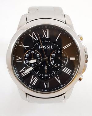 Reloj Fossil Fs, Cronografo, Pulso En Acero