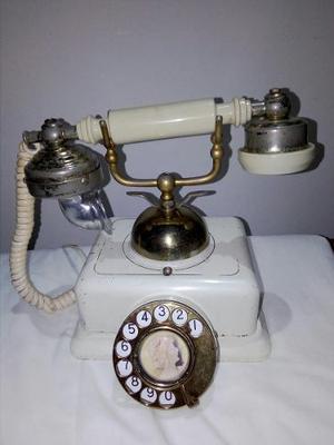 Autentico Telefono Antiguo De % Funcional
