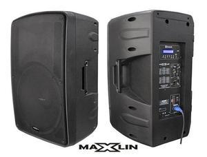 Cabina De Sonido Activa Maxlin Cabi15pmxw Parlante Bluet