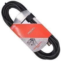 Cable De Microfono Proel Bulk250lu6 6 Mts Xlr A Xlr 6m