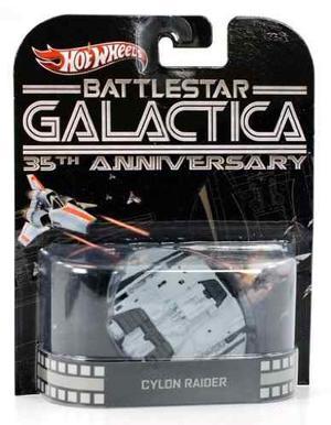 Hot Wheels 1:64 Escala Battlestar Galactica !