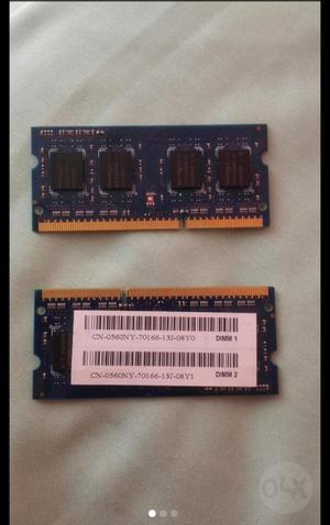 Memoria Ram Ddr3 para Portátil