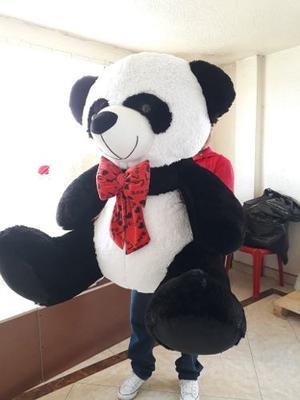 Oso Panda De Peluche Grande 1.40cmts + Envío Gratis