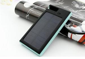 Cargador Power Bank Solar Con Pantalla Lcd  Mili Amp