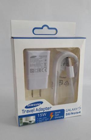 Cargador Samsung Original Carga Rápida Galaxy S5 S6 S7