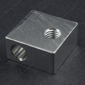 Bloque De Aluminio Para Extrusor Mk Mm