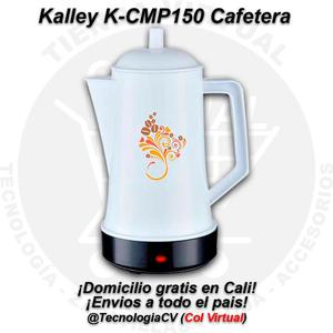 Cafetera 600W de 1.5L marca Kalley KCMPM0V.P35