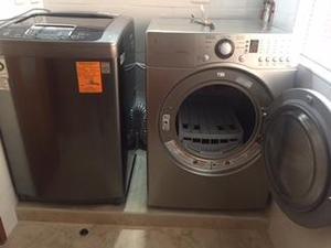 Lavadora LG y Secadora LG