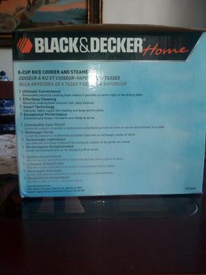 Olla Arrocera Nueva Blackdecker