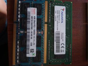 Memoria Ddr3 4gb para Portátil
