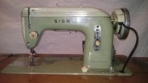 Máquina De Coser Antigua Marca Sigma