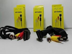 Cable RCA o Audio y Vídeo para PS2