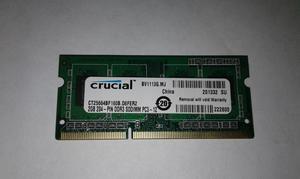 Memoria Ram Ddr3 2 Gb Para Portatil